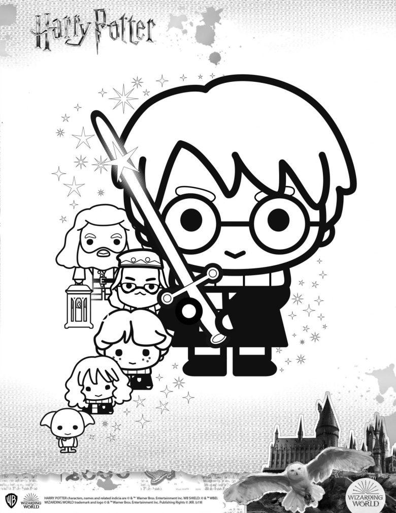 Harry Potter Giochi E Attivita Del Mondo Magico Da Fare A Casa Video Tutorial E Disegni Da Colorare