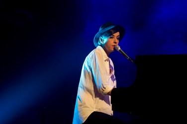 A cantora francesa Maissiat (Foto: Alexandre Eça)