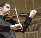 HDL Jesús Reina, un violinista con el escenario como hogar