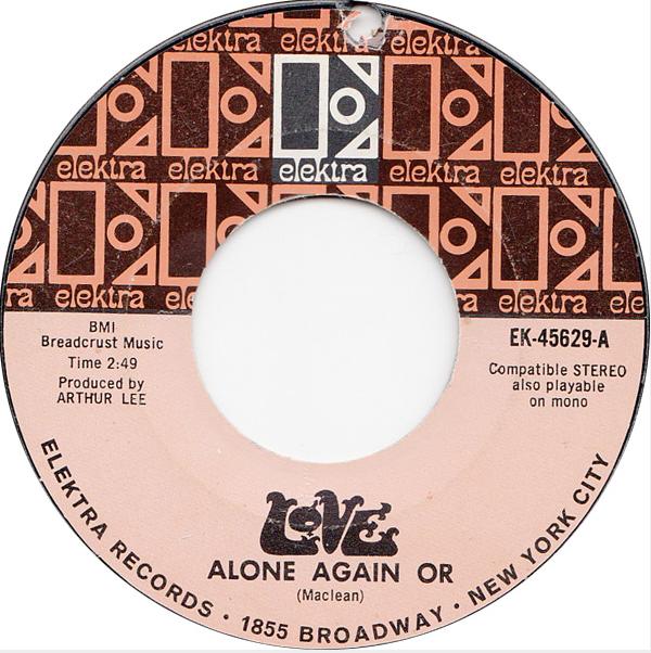 Alone Again, Or single