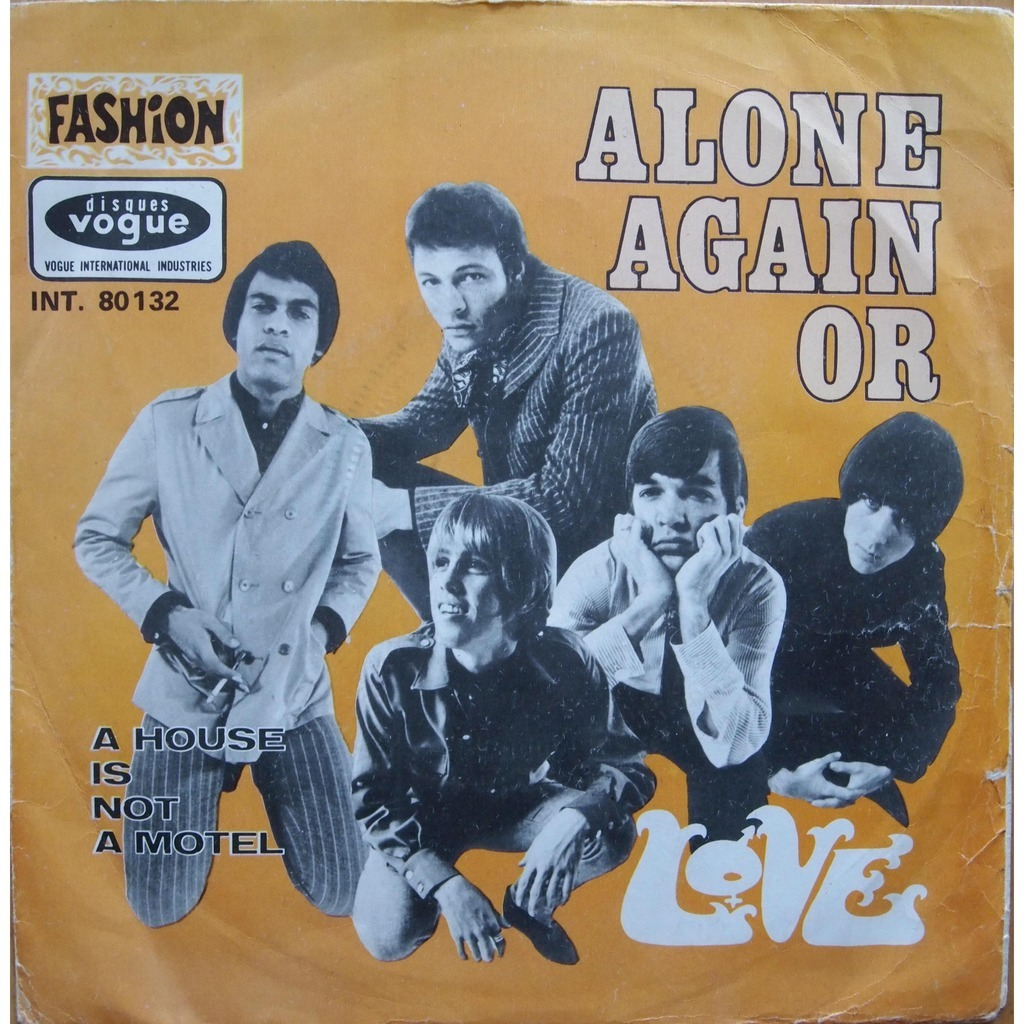 Who sang alone again in the 80s