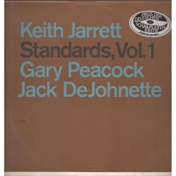 Keith Jarrett, Standards vol 1 front