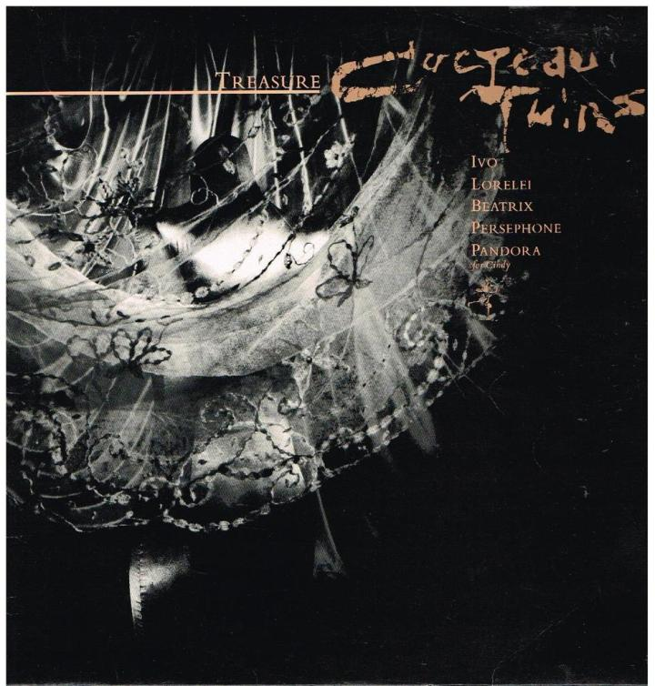 Cocteau Twins - Treasure front