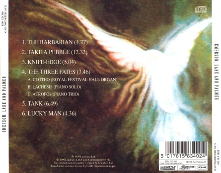 Emerson Lake and Palmer back