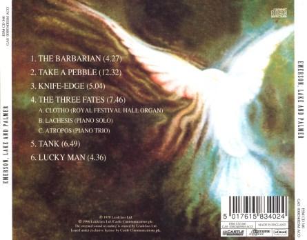 Emerson Lake and Palmer back