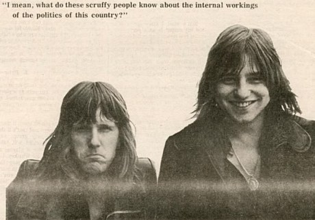 Keith Emerson and Greg Lake 1971