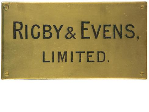 Rigby & Evens Ltd, Wine & Spirit Shippers