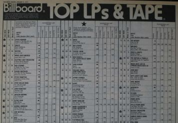 Billboard Top LPs January 1977