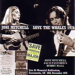 Joni Mitchell Jaco Pastorius 1976
