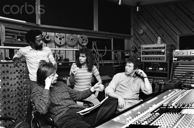 Pat Metheny Recording Session