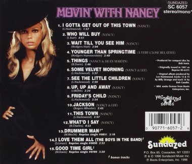 Movin' with Nancy, back
