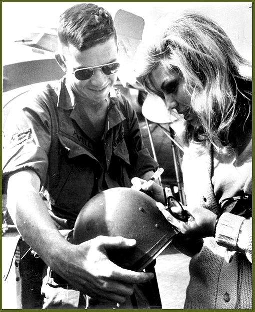 Nancy Sinatra in Vietnam