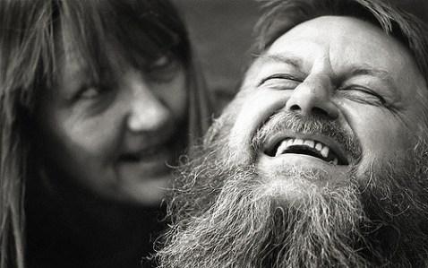 Robert Wyatt and Alfreda Benge, 2007