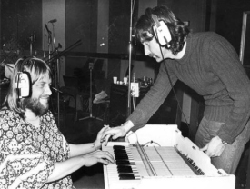 Robert Wyatt and Nick Mason