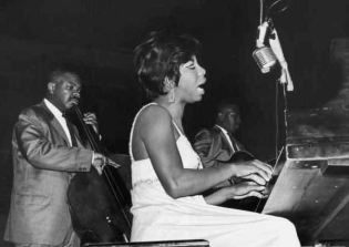 Nina Simone with Lisle Atkinson