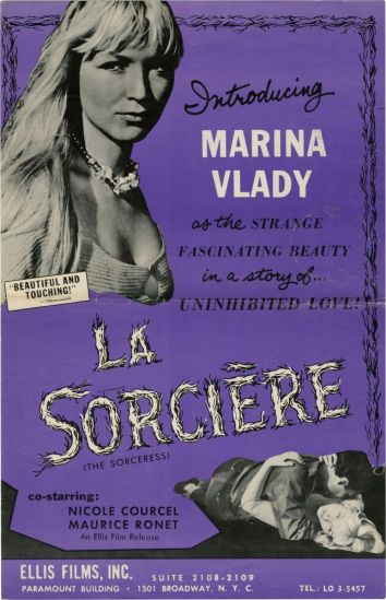La Sorciere poster