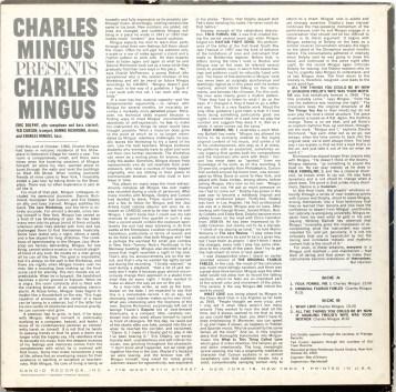 Charles Mingus Presents Charles Mingus back
