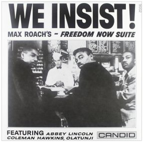 Max Roach We Insist! front