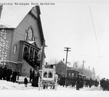 1913 Massacre Funeral