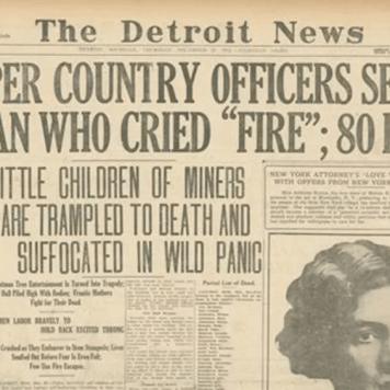 1913 massacre headline