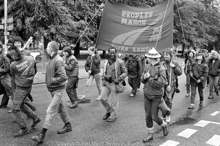 People's March For Jobs 1981