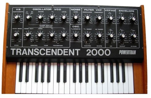 Transcendent 2000 synthesizer