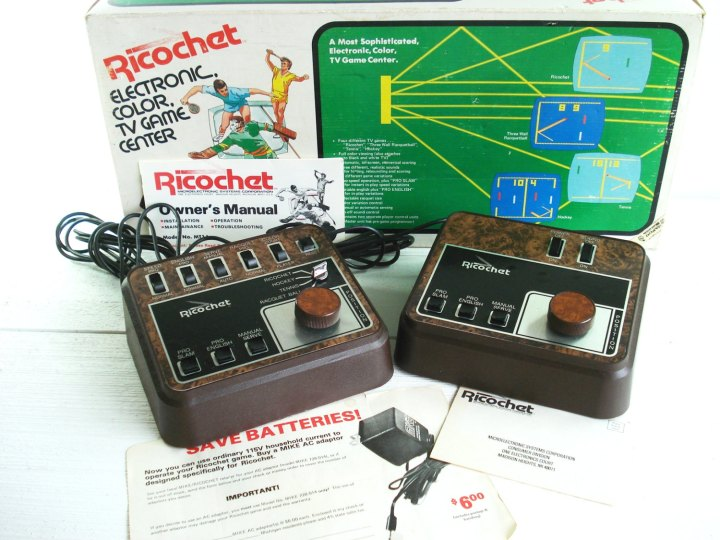 Ricochet TV game
