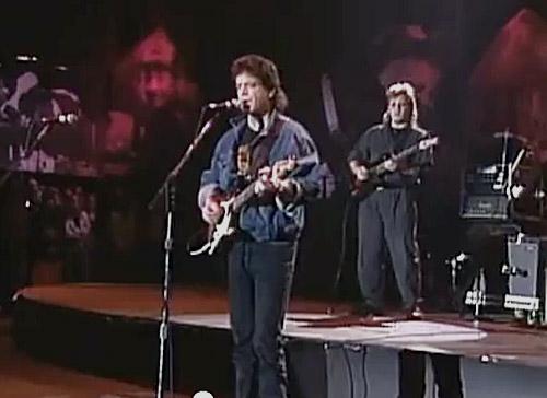 Lou Reed Mike Rathke 1990