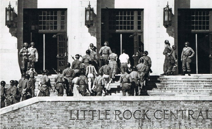 National Guard at Little Rock