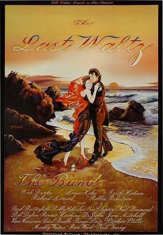The Last Waltz original poster