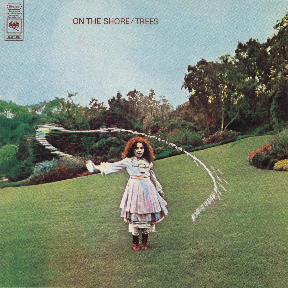 On The Shore, by Trees