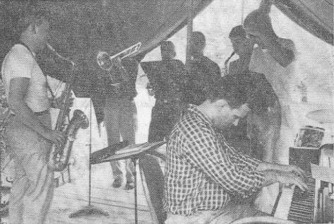 1959 Giuffre ensemble rehearsal