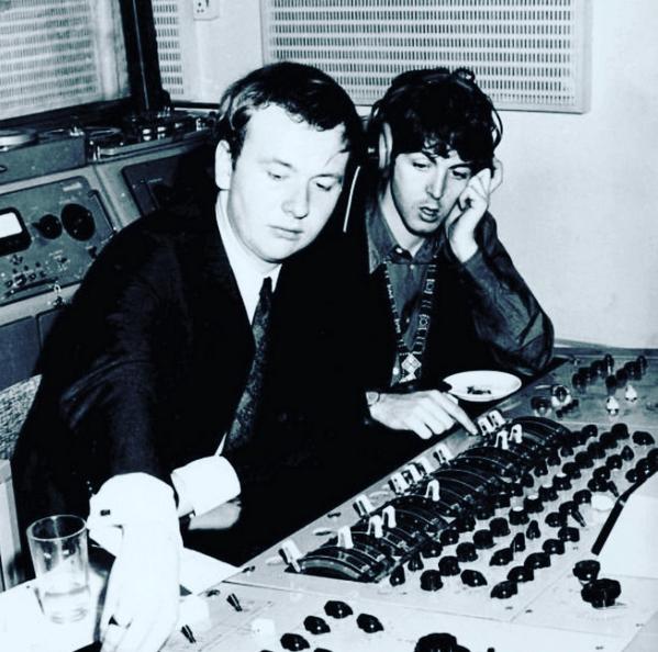 Geoff Emerick Paul McCartney