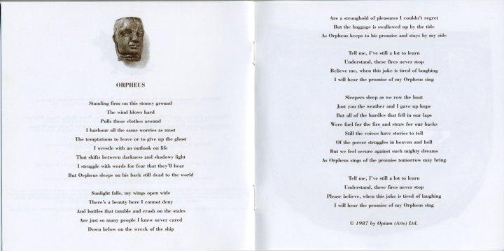 Orpheus Lyrics