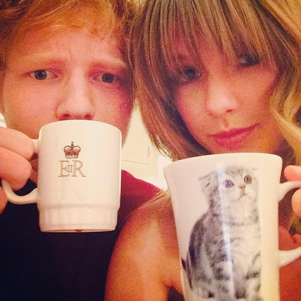 Taylor Swift e Ed Sheeran: a amizade que a gente respeita