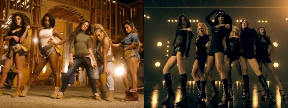 Fifth Harmony (2016) e Pussycat Dolls (2006) - duas girlbands agora conectadas pela história dos charts