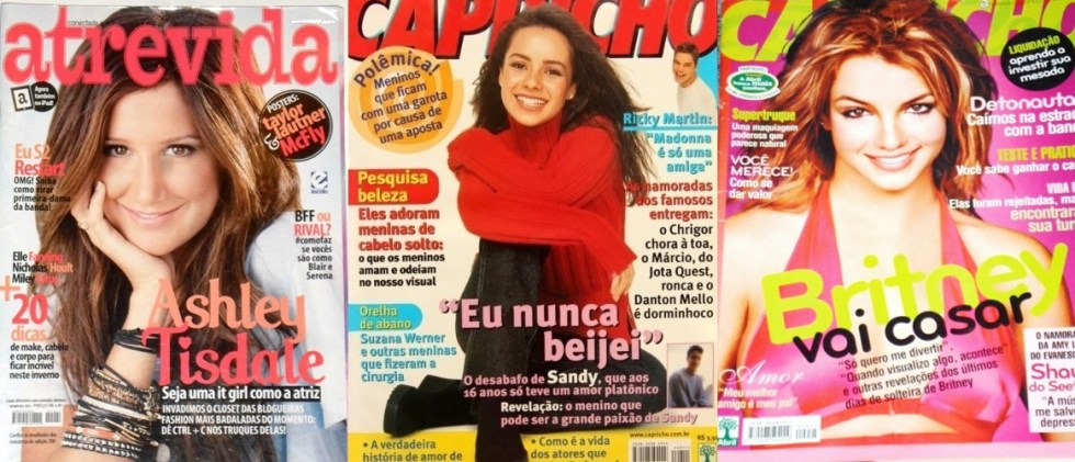 Revistas adolescentes pop