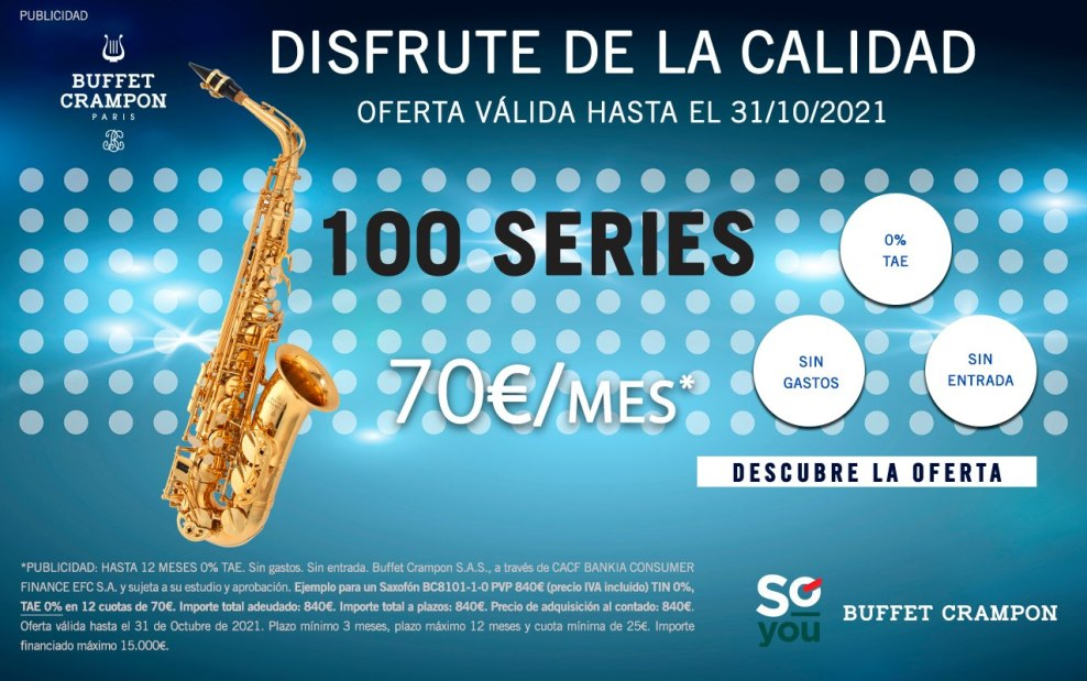Ver saxos Buffet Crampon Serie 100