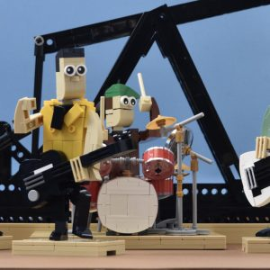 LEGO - The Clash ' Rock the Casbah ' 1982.