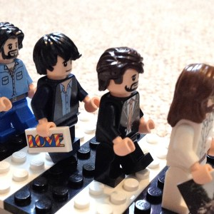 The Beatles 'Abbey Road' in LEGO
