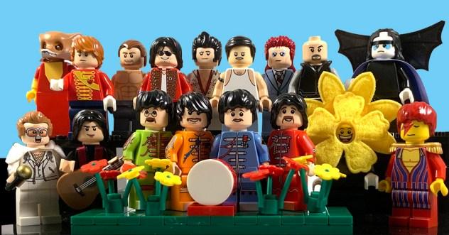 12 Lego Minifigure Music Icons