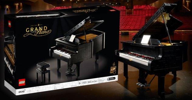 LEGO Ideas Grand Piano (21323) Official Announcement