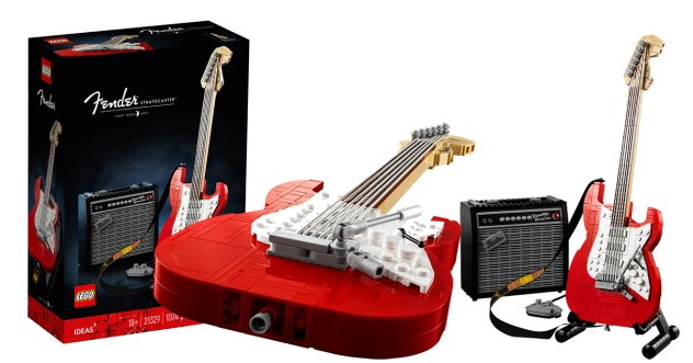 LEGO Fender Stratocaster Official Announcement!