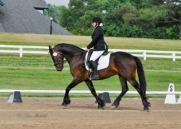 Jeri riding horse