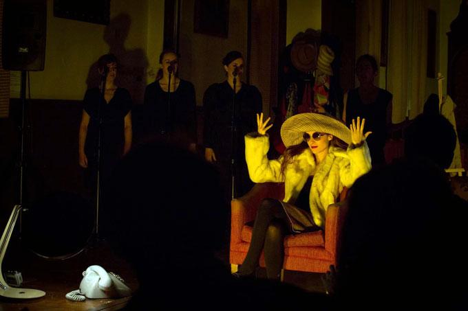 """""""Obstinato"""", Festival Ateneo Mucha Vida, Madrid. Dramaturgia y dirección Beatmac."""