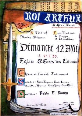 2 - 1996-05-12 Concert Clermont-Ferrand Affiche