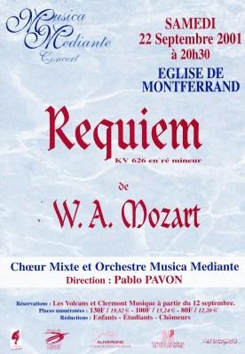 _1 - 2001-09-22 Concert Clermont-Ferrand flyer