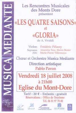 _2008-07-18 Concert Le Mont-Dore Affiche