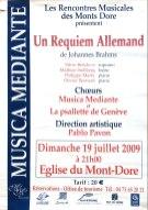 2009-07-19 Stage été Concert Le Mont-Dore Affiche