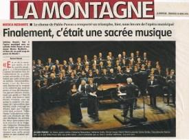 _2014-04-19 Concert Clermont-Ferrand Article La Montagne